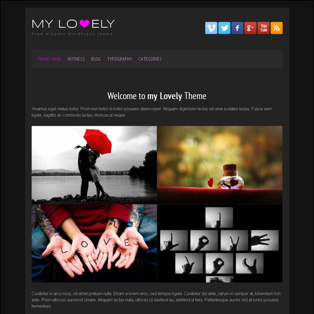 my-lovely-wordpress
