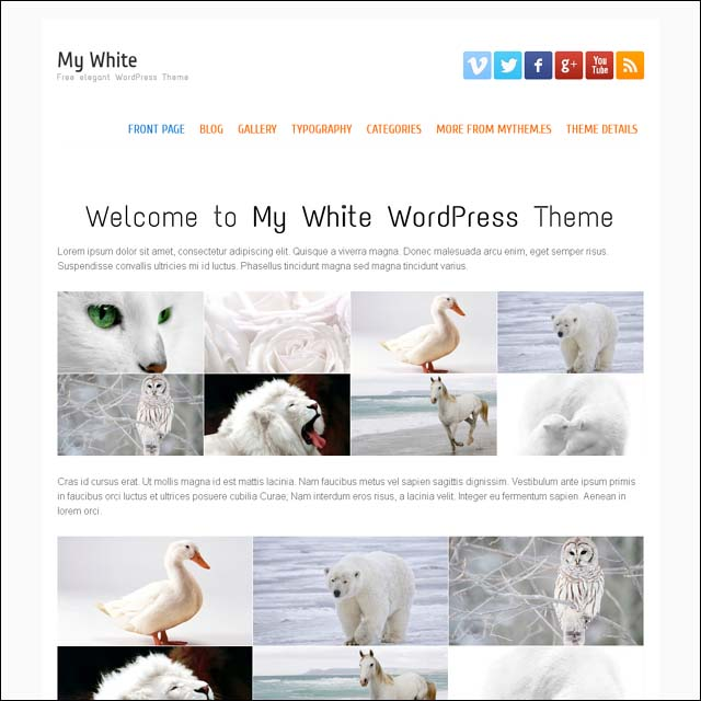 my-white-free-wordpress-theme